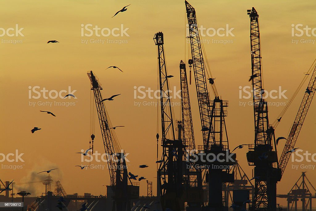 Industry royalty-free stock photo