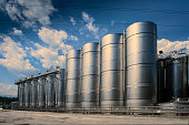 Industry, Storage Tank, Factory, Silo,