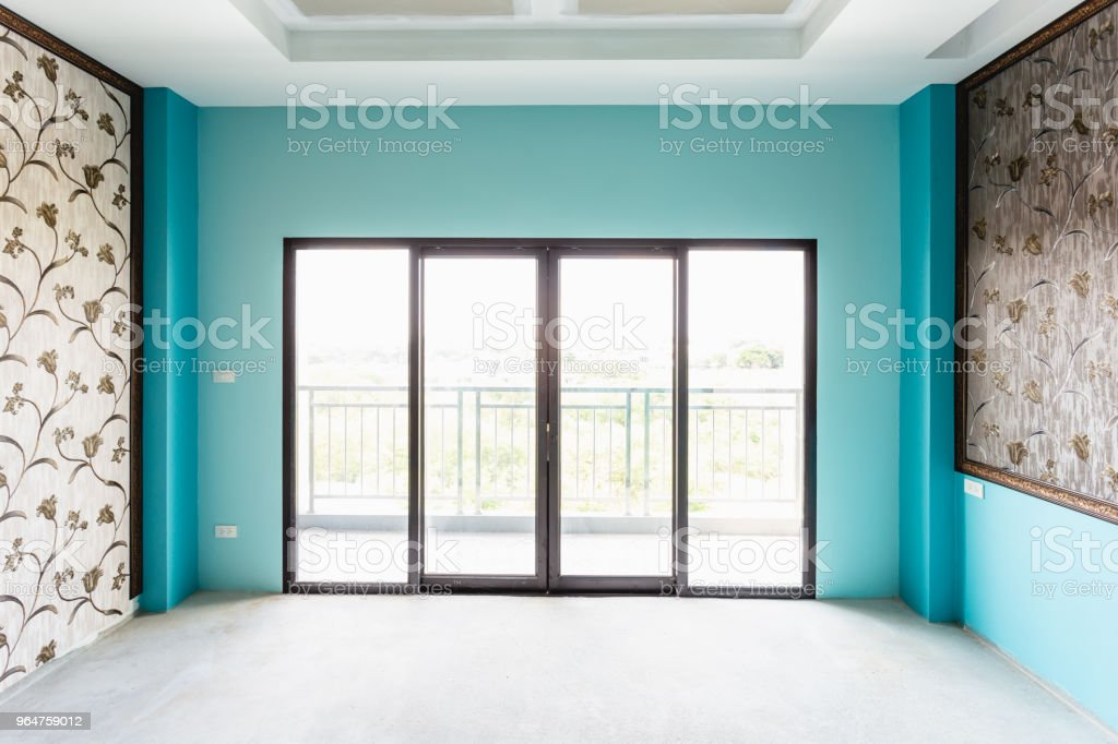 Industry under construction building empty room interior royalty-free stock photo