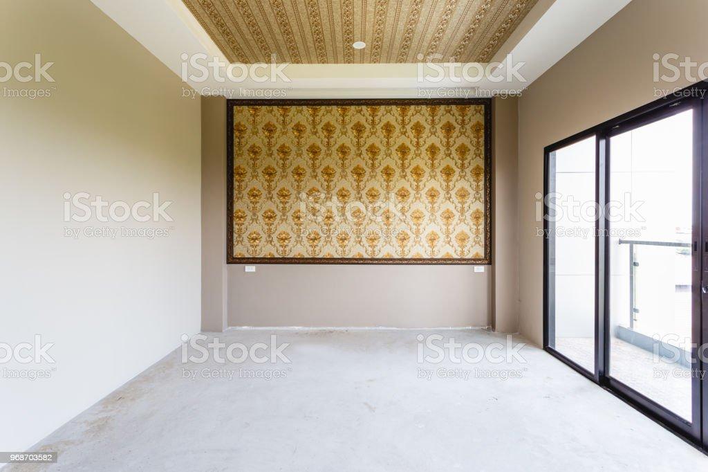 Industry Under Construction Building Wallpaper Empty Room