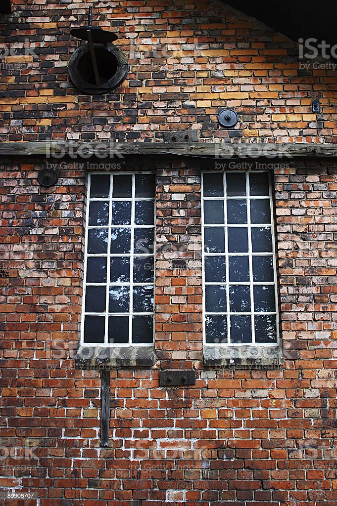 Industry windows royalty-free stock photo