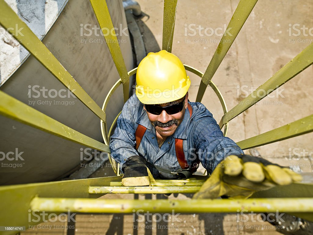Industry workman royalty-free stock photo