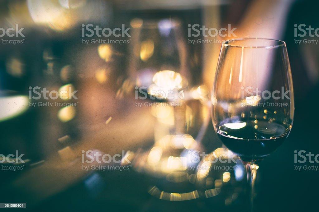 Inebriation perception stock photo