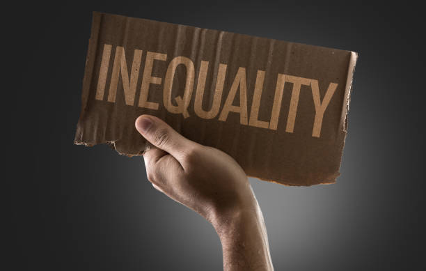 inequality - imbalance stock photos and pictures