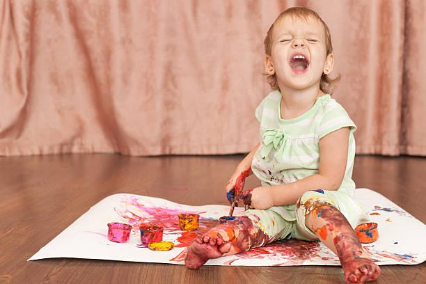 Baby body art – Foto