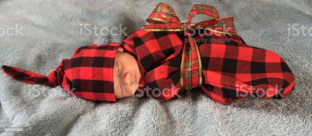 Infant boy photo shoot stock photo