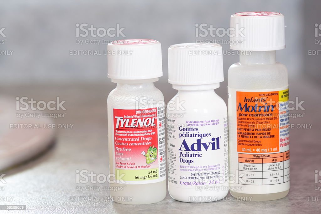 Infant Pain Relief stock photo