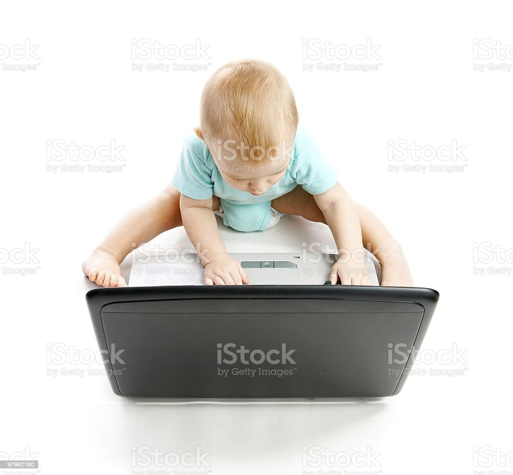 Infant royalty-free stock photo