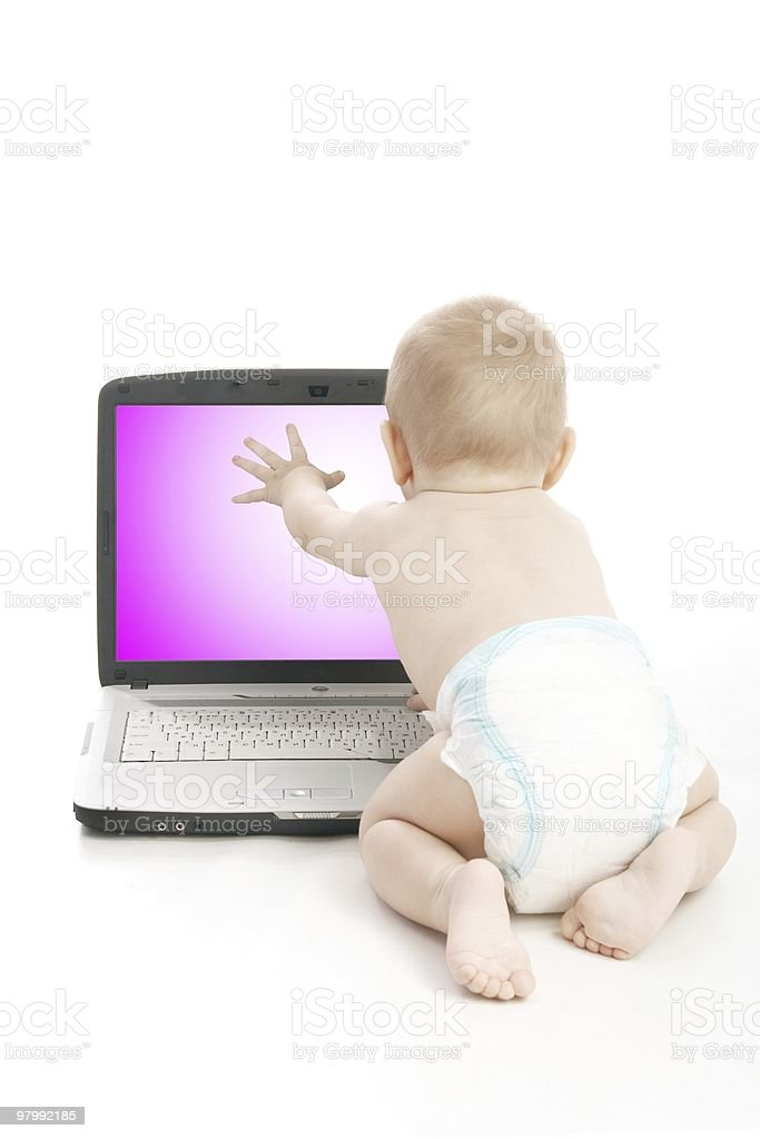 Infant royalty-free stock photo