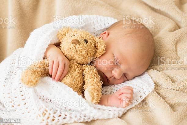 Infant sleeping together with teddy bear picture id589549766?b=1&k=6&m=589549766&s=612x612&h=d596bormwxcsijipexrmlc t0gjwj f4wwnywgi1xac=