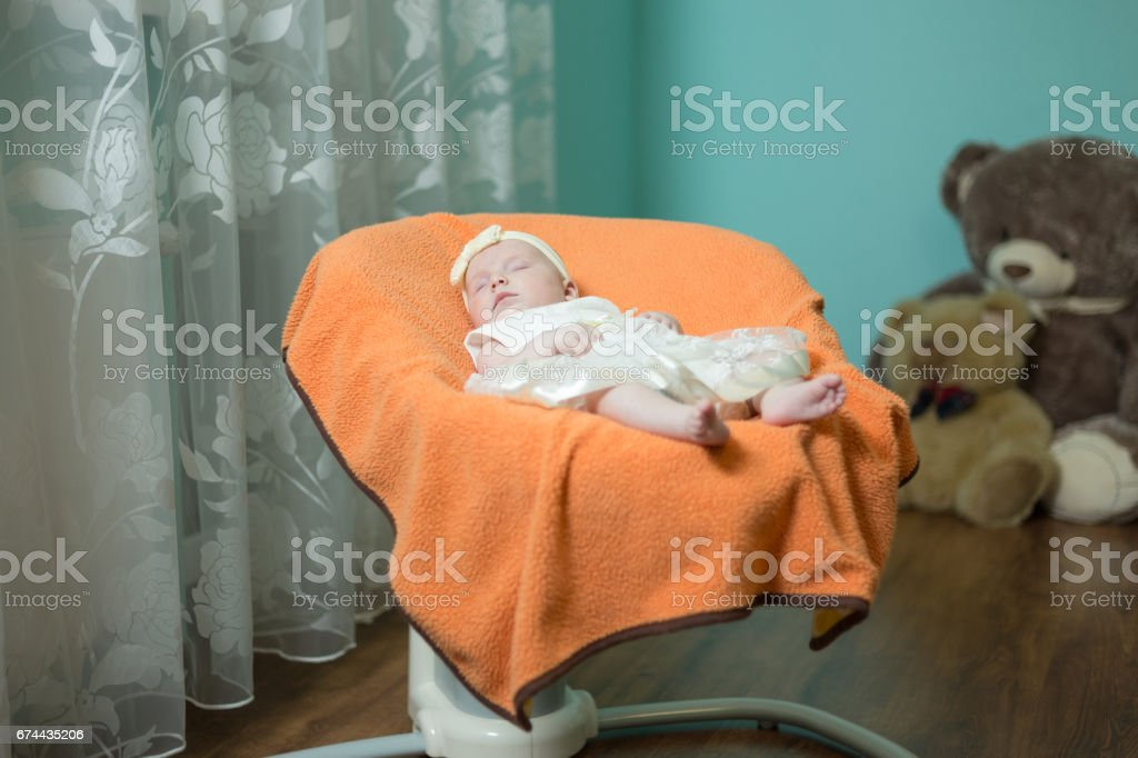 infant sleeps in the armchair for toddlers gm