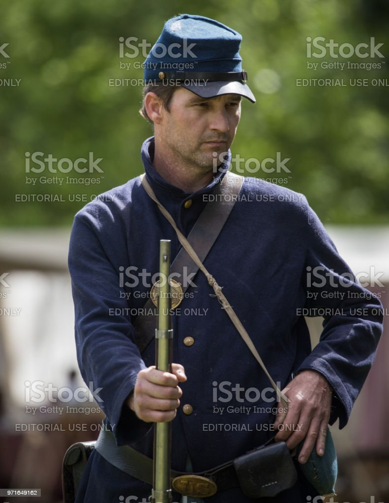Infantry Soldier stock photo
