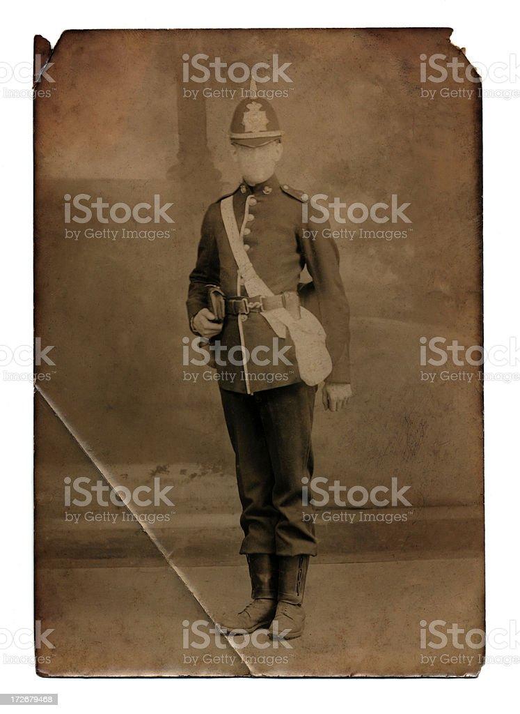 Infantryman royalty-free stock photo