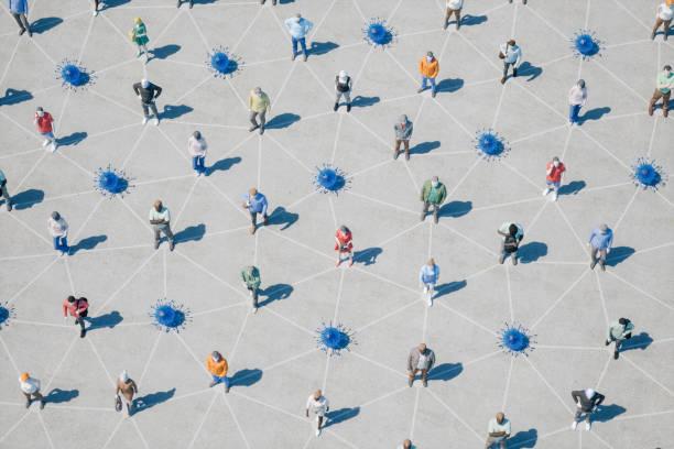 Infektionskrankheiten und soziale Verzierung – Foto
