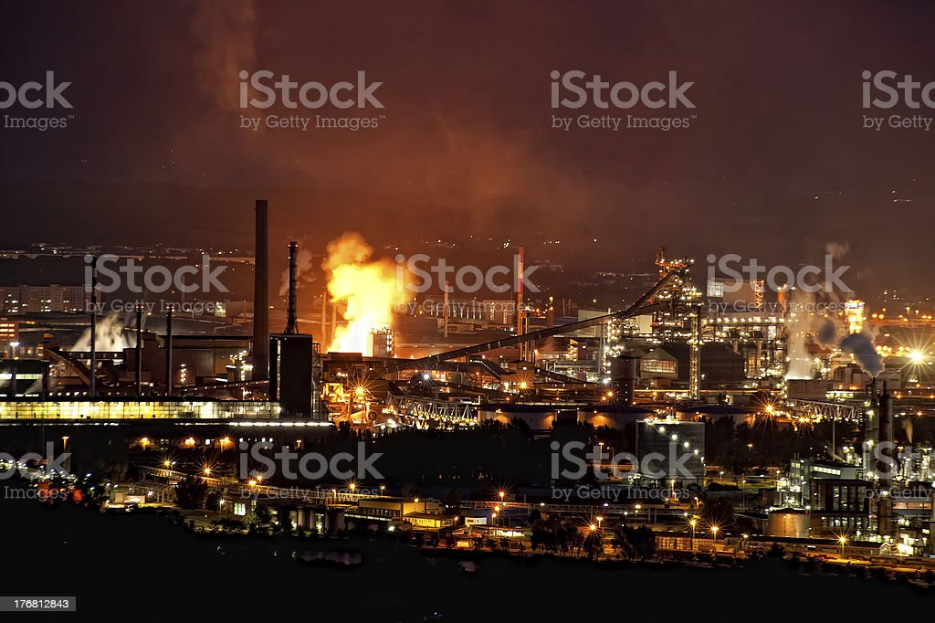 Infernal Industry royalty-free stock photo