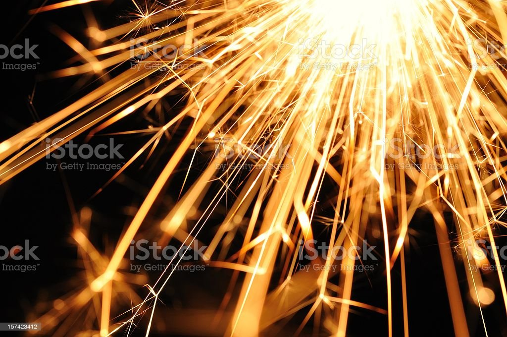 Inferno light stock photo