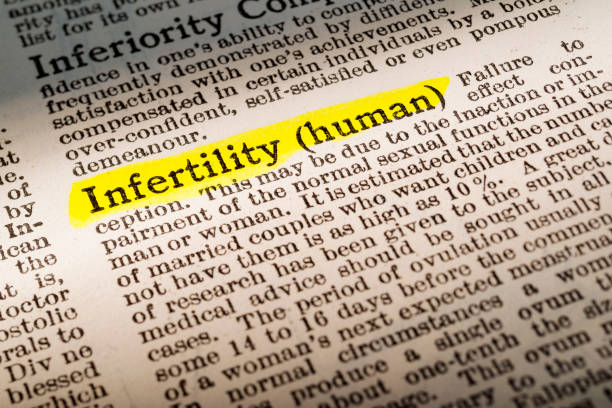 infertility - dictionary definition highlighted - infertility stock pictures, royalty-free photos & images