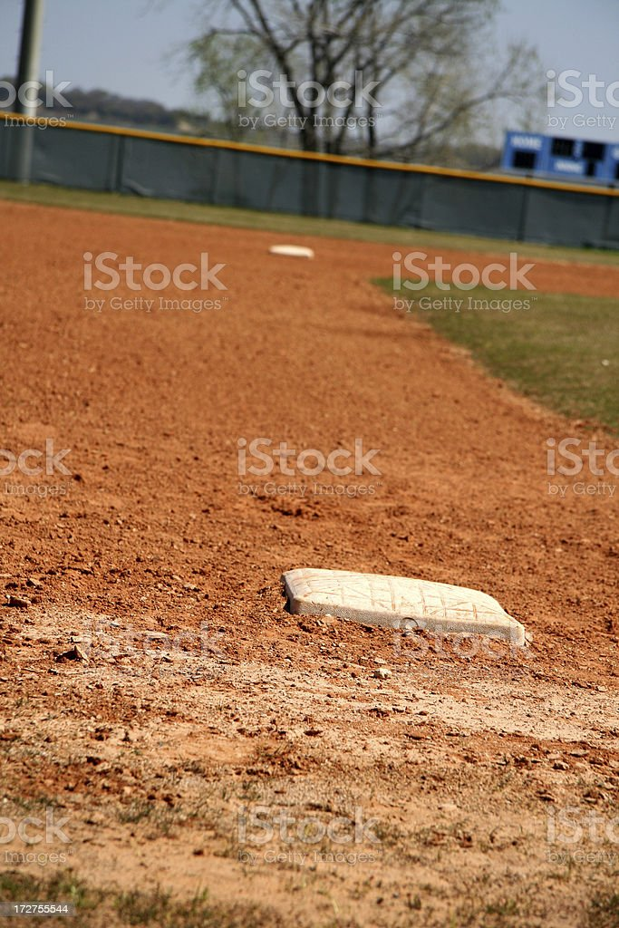 Infield View stock photo