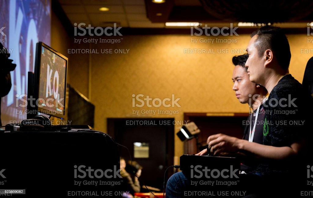 RZR Infiltration KOs MCZ Tokido Street Fighter V NCR 2016 stock photo