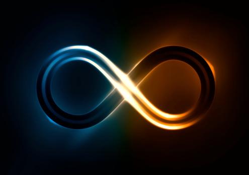 Infinite Light-foton och fler bilder på Blå