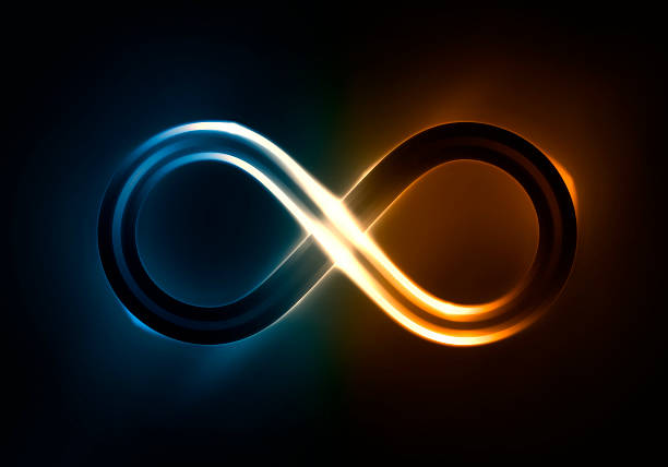 infinite light - symbol stock pictures, royalty-free photos & images