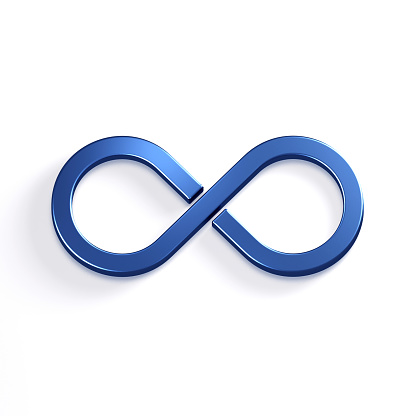 istock Infinite Loop Symbol. 3D Render Illustration 904389174