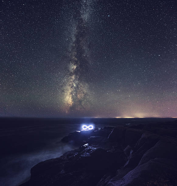 infinite milky way - infinity stock photos and pictures