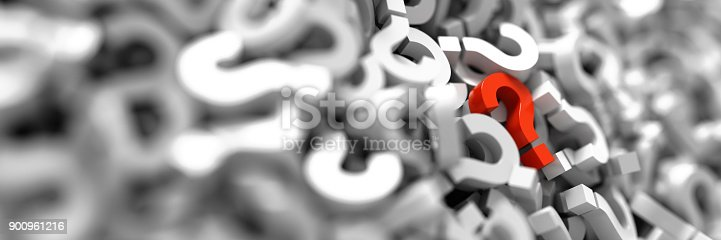 istock infinite question icons, original 3d rendering; business and marketing concepts 900961216