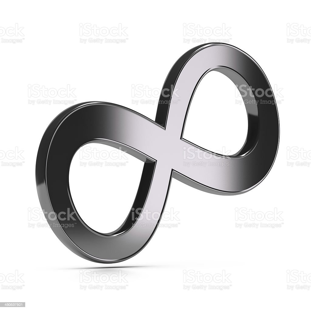 Infinite Symbol, Infinity stock photo