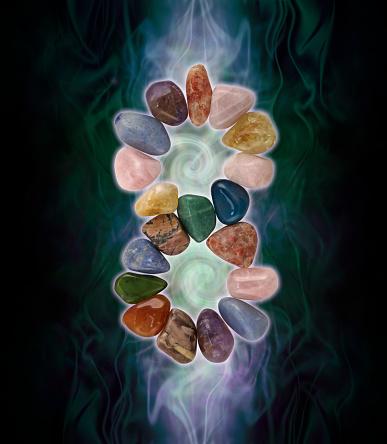 istock Infinity Crystals and spiralling energy 1060907038