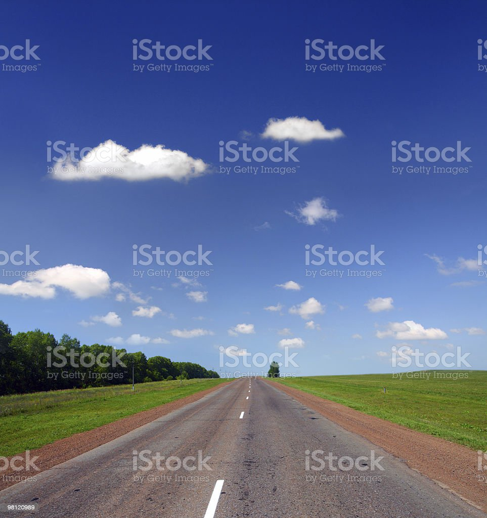 infinity road royalty-free stock photo