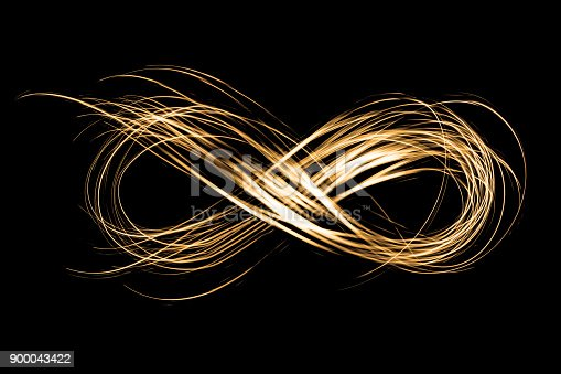 istock infinity sign created by neon freeze light on a black background 900043422