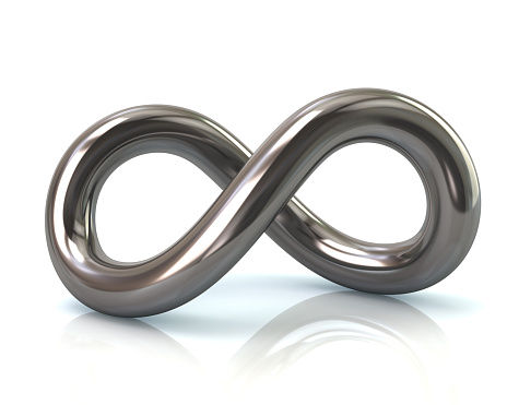 Illustration of infinity symbol