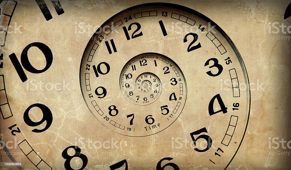 Infinity time. stock photo