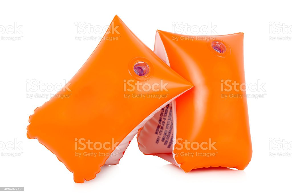inflatable armbands stock photo