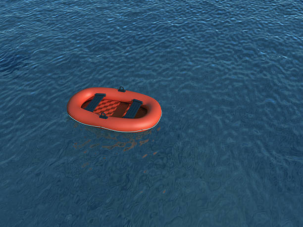 inflatable boat - livbåt bildbanksfoton och bilder