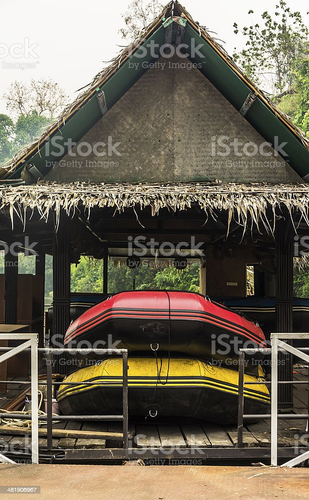 Inflatable  Boats royalty-free stock photo