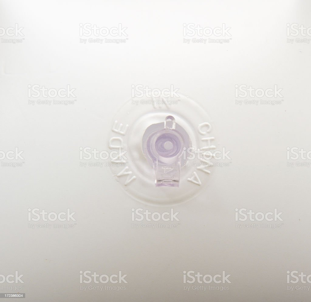 Inflatable coat hanger made in china royalty-free stock photo