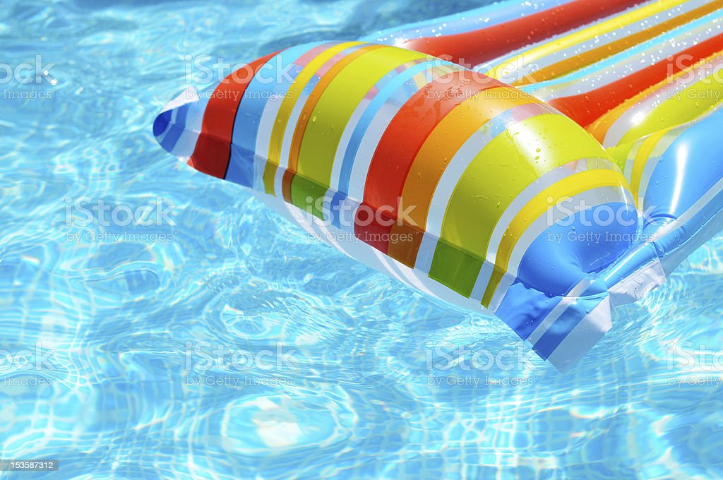 inflatable Mattress royalty-free stock photo