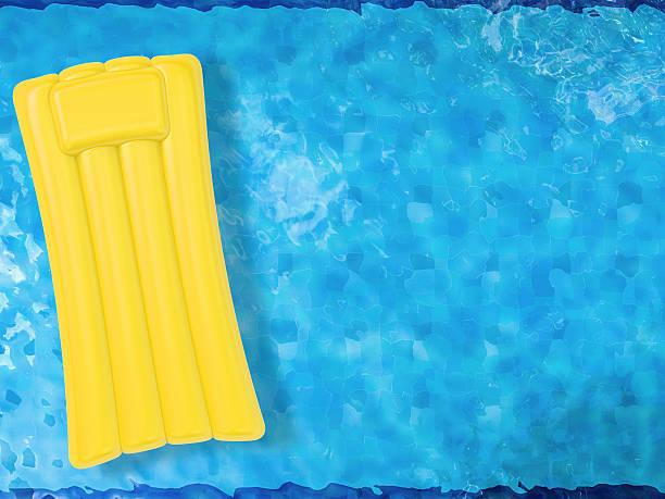 bote na piscina vista de topo - brinquedos na piscina imagens e fotografias de stock
