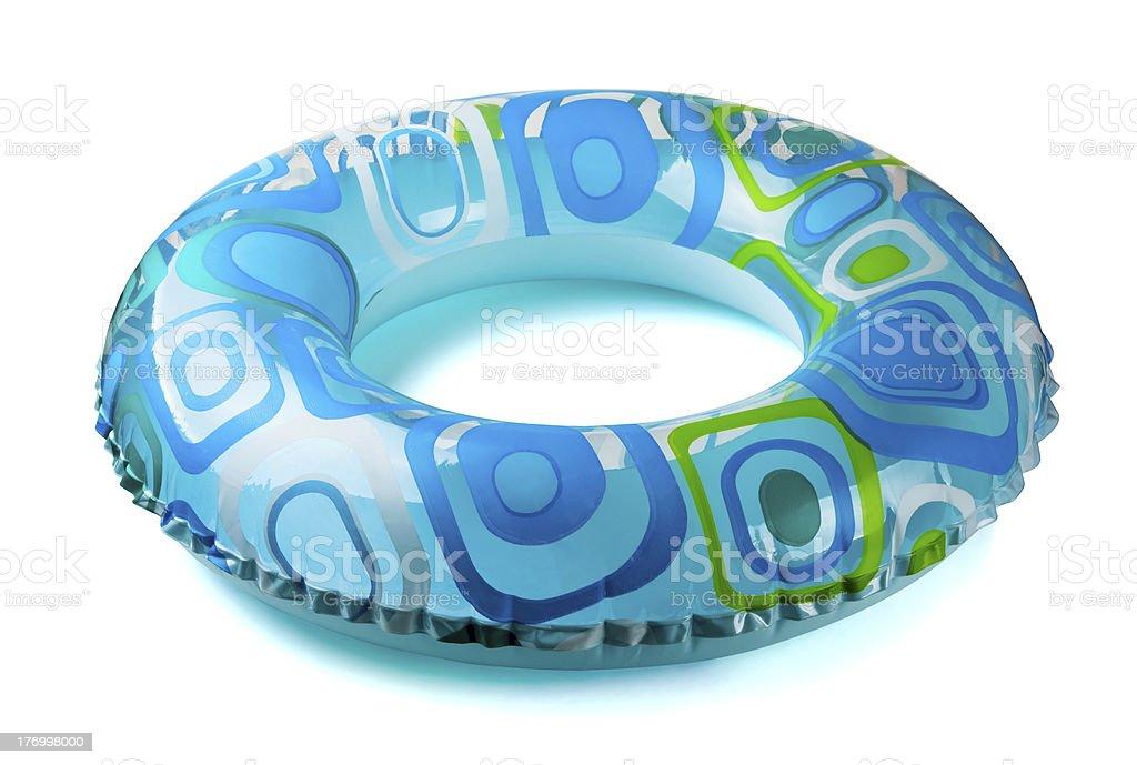 Inflatable  tube stock photo