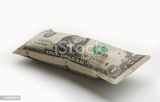 A picture representing the recent inflation in U.S. currency.