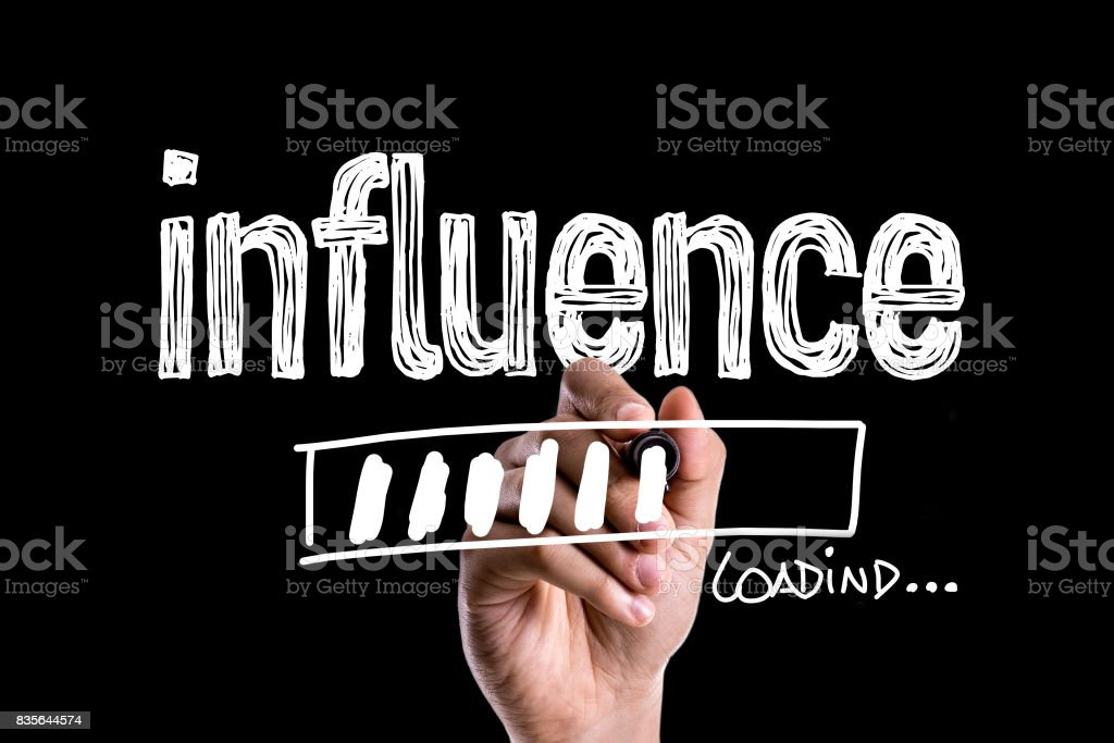 Influence stock photo
