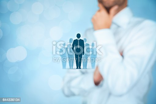 istock Influencer, opinion leader, team leader, CEO 644336134