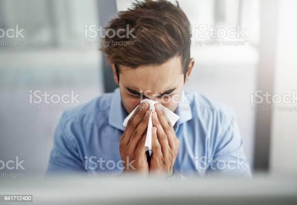 Die Grippe Ist Eine Ernste Angelegenheit Stockfoto und mehr Bilder von Allergie