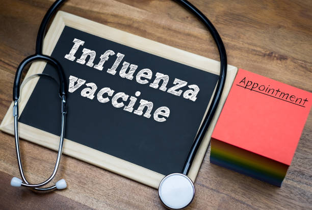 Influenza vaccine - health care Influenza vaccine - health care flu vaccine stock pictures, royalty-free photos & images