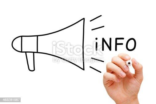 istock Info Megaphone Concept 463281587