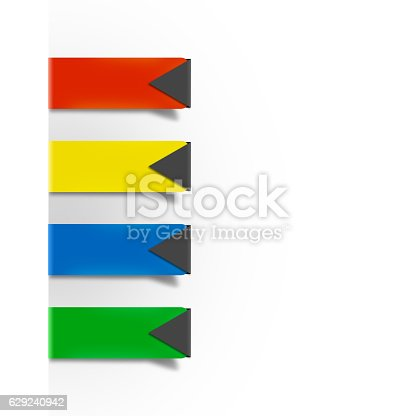 istock infographic colourful paper clips 629240942