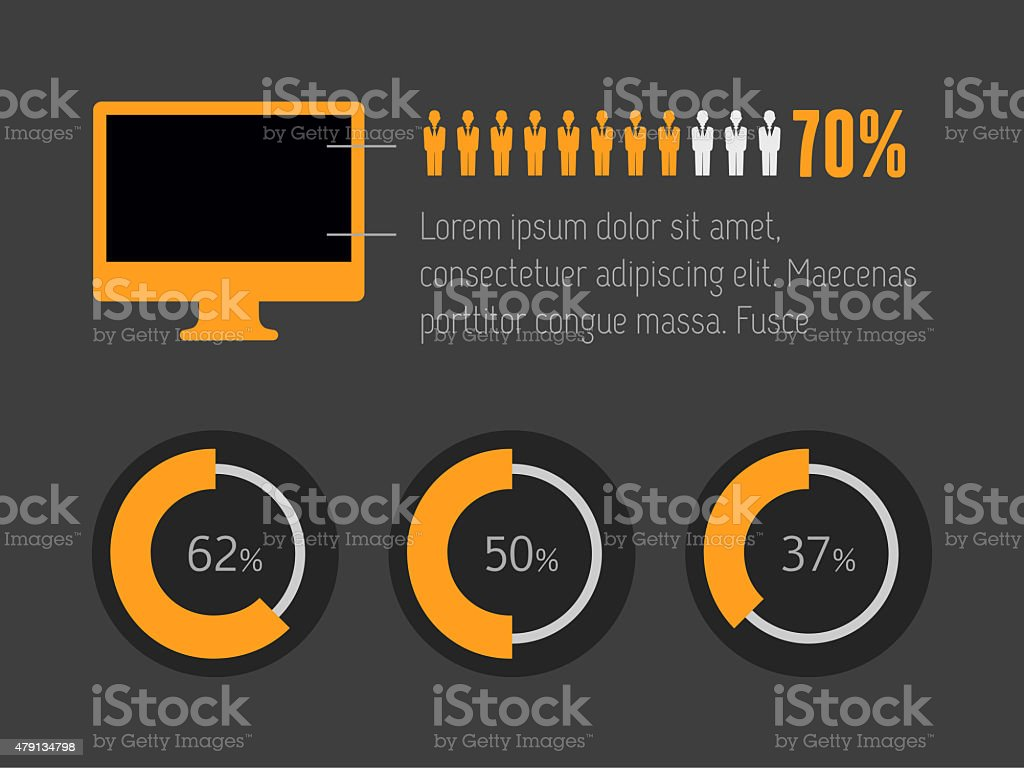 Infographic Elements. stock photo