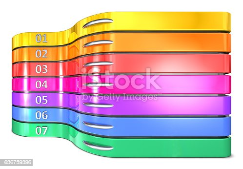istock Infographic report template layout 636759396